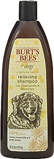 Burt's Bees 伯特的小蜜蜂 狗狗护理天然缓解爪子和鼻部乳液,洋甘菊和迷迭香 Coat Protecting Foam 香波