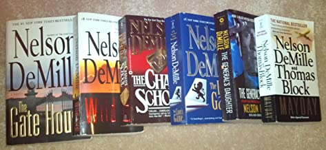 Nelson Demille Set 6 Books- The General's Daughter, The Gate House, Wild Fire, The Lion's Game, The Charm School and MayDa...