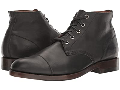 Frye Will Chukka (Black Pressed Full Grain) Men
