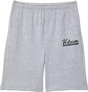 Volcom Boy's Eastmont Fleece Shorts (Toddler/Little Kids) Heather Grey 2XL (7X Little Kids)