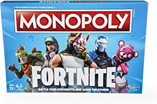 Monopoly: Fortnite Edition Board Game Inspired by Fortnite Video Game Ages 13 and Up