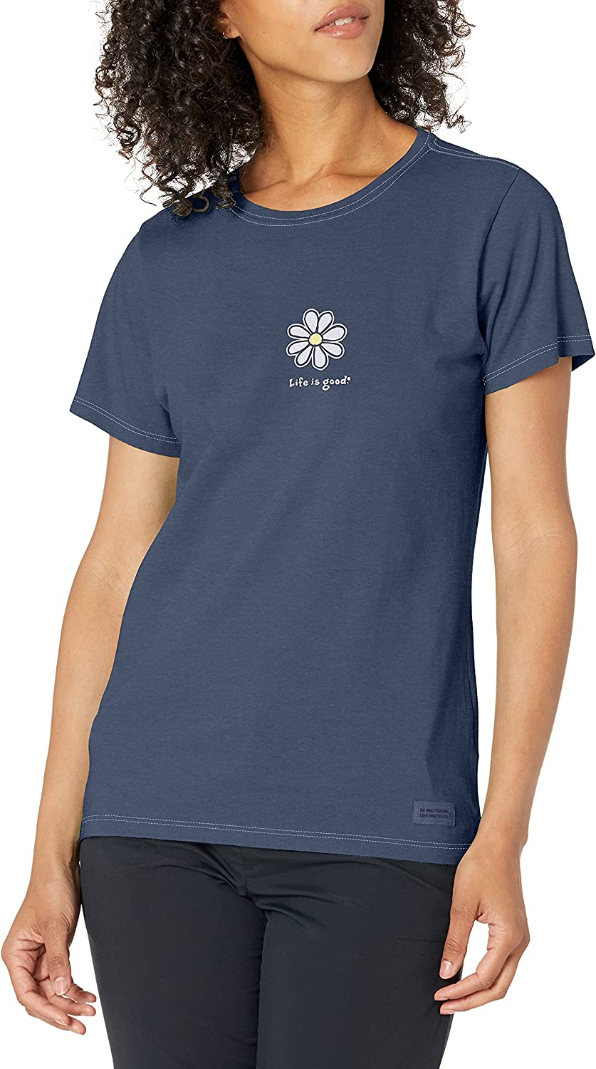 Life is Good Daisy Graphic T-Shirt Vintage Collection