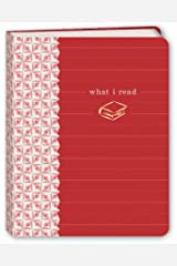 What I Read (Red) Mini Journal Hardcover