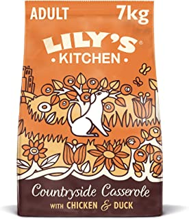 Lily's_Kitchen Chicken & Duck Countryside Casserole Natural Grain Free Complete Adult Dry Dog Food (7 kg)
