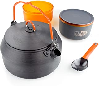 GSI Outdoors - Halulite Ketalist, Superior Backcountry Cookware Since 1985