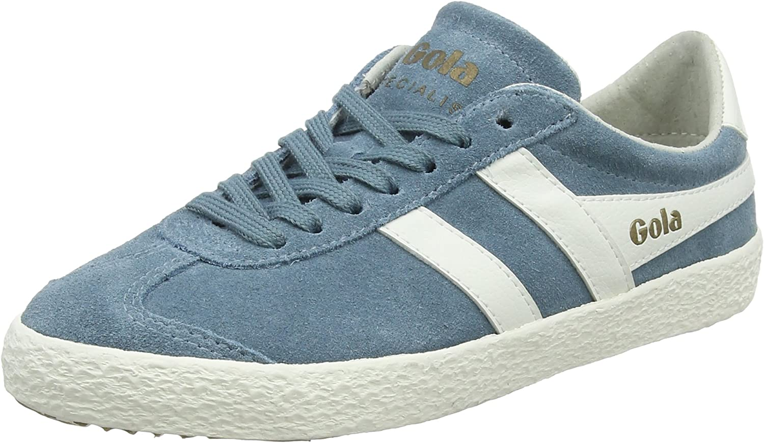 Gola Women's Specialist Indian Teal Off White Trainers, bluee Ea, 8 UK 41 EU