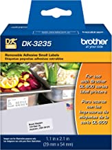Brother Printer Die Cut Removable Adhesive Small Labels (DK3235)