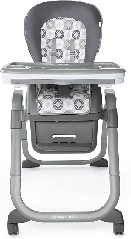Ingenuity SmartServe 4 In 1 High Chair With Swing Out Tray Clayton High Chair Toddler Chair And Booster