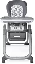 Ingenuity SmartServe 4-in-1 High Chair with Swing Out Tray – Clayton – High Chair, Toddler Chair, Booster
