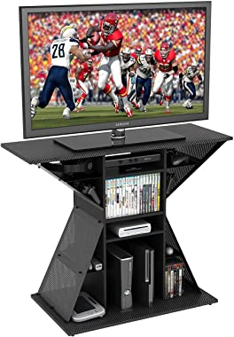 """TV Video Game Stand, Gaming Storage Rack Hub Console for 42"""", Xbox, PS3, PS4. Perfect Size For Any Living Room Or Bedroom In"""
