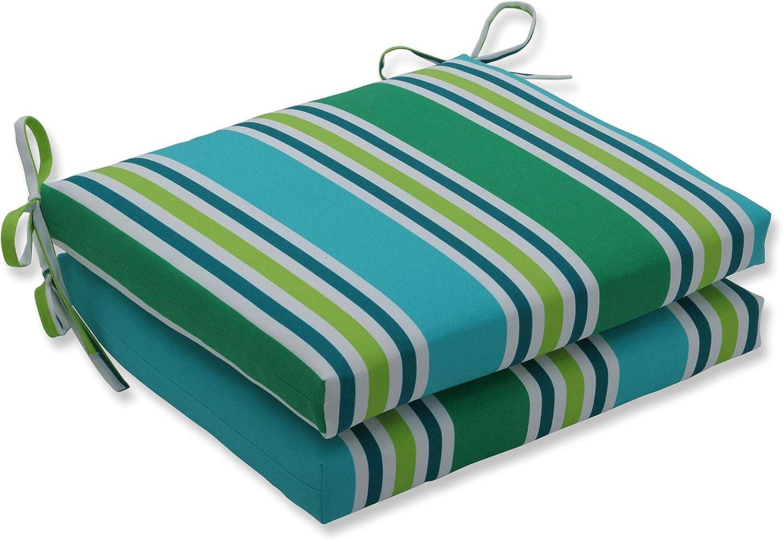 Pillow Perfect Outdoor Indoor Aruba Seat Price reduction Cu Square Corner Stripe Translated