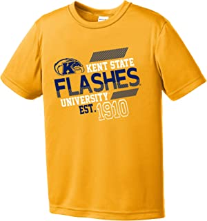 Image One Boy's NCAA Offsides Youth Short Sleeve Polyester Competitor T-Shirt