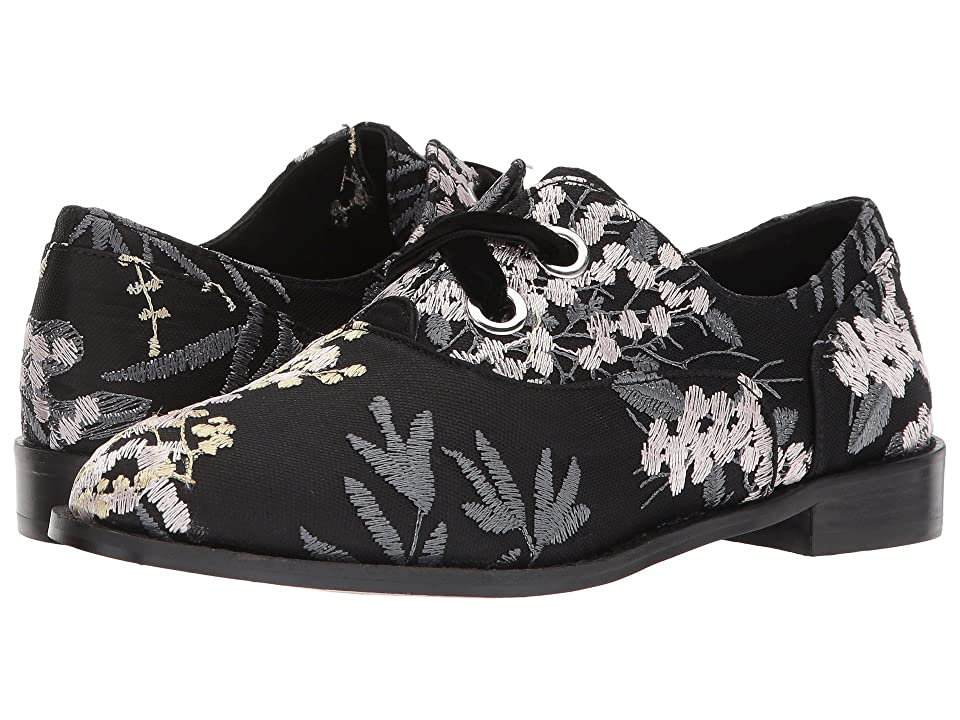 Shellys London Frankie Oxford (Black Floral) Women