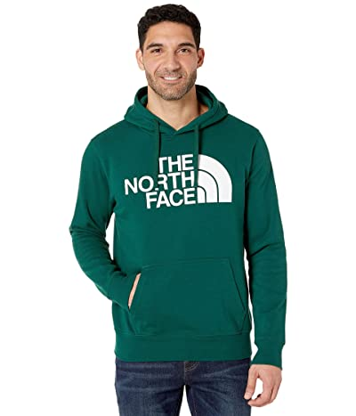 The North Face Half Dome Pullover Hoodie (Night Green) Men