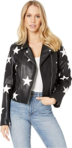 Black and White Star Jacket in the End Game