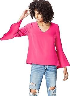 Find womens V Neck Flutter Sleeve Blouses