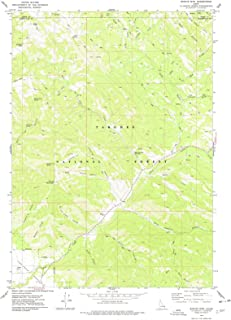 Idaho Maps - 1977 Stouts MTN, ID USGS Historical Topographic Map - Cartography Wall Art - 35in x 44in