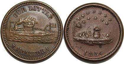 our navy civil war token