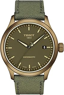mens Tissot Gent XL Stainless Steel Casual Watch Khaki T1164073709100