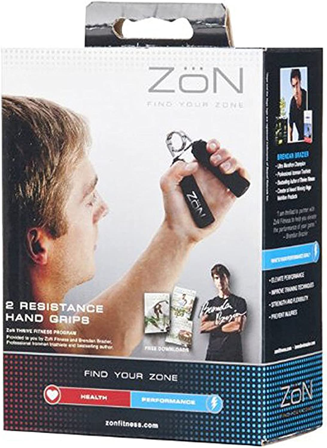 ZoN Resistance Strength Hand Grips  2 Pack