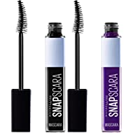 Maybelline New York Snapscara Washable Mascara, Ultra Violet and Pitch Black