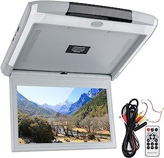 Monitor de carro virado para baixo, monitor de teto de 11,6 polegadas 1080p HD LED montagem no teto do carro, alto-falante...