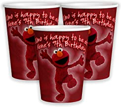 12 Personalized Elmo 9 oz Paper Cups