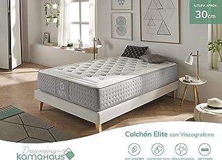 Dreaming Kamahaus Elite Colchón, con Viscografeno-Soft, 160x190