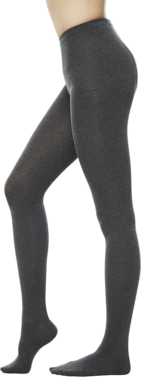 Women Color Flat knit Sweater Cotton Stirrup Footless Footed tights