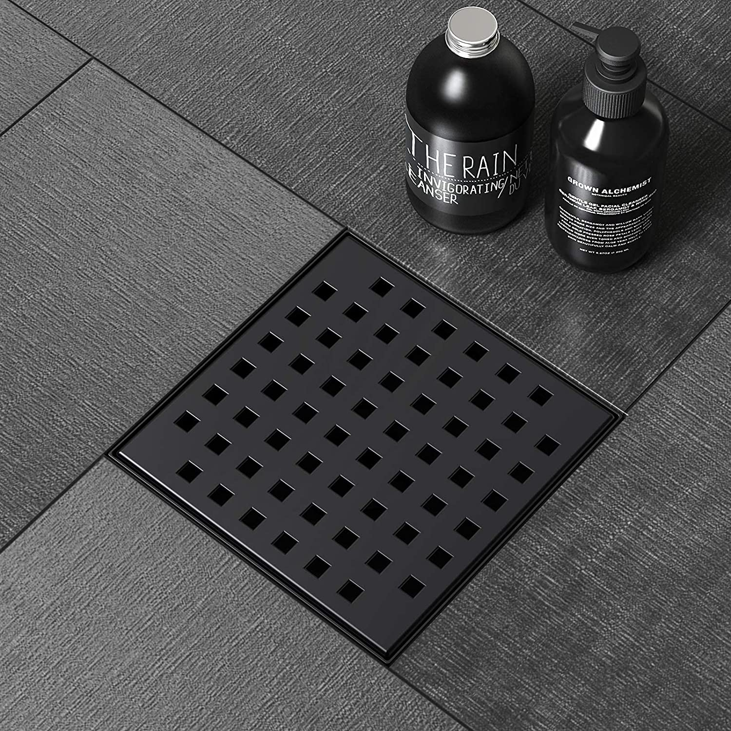 Ranking TOP10 PRIMSOPH Shower discount Drain Square Floor Inch 2mm 6 Thicke