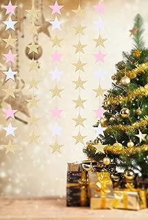 Star Garland,Star Paper Garland Banner Decorations Party Garland Christmas Garland