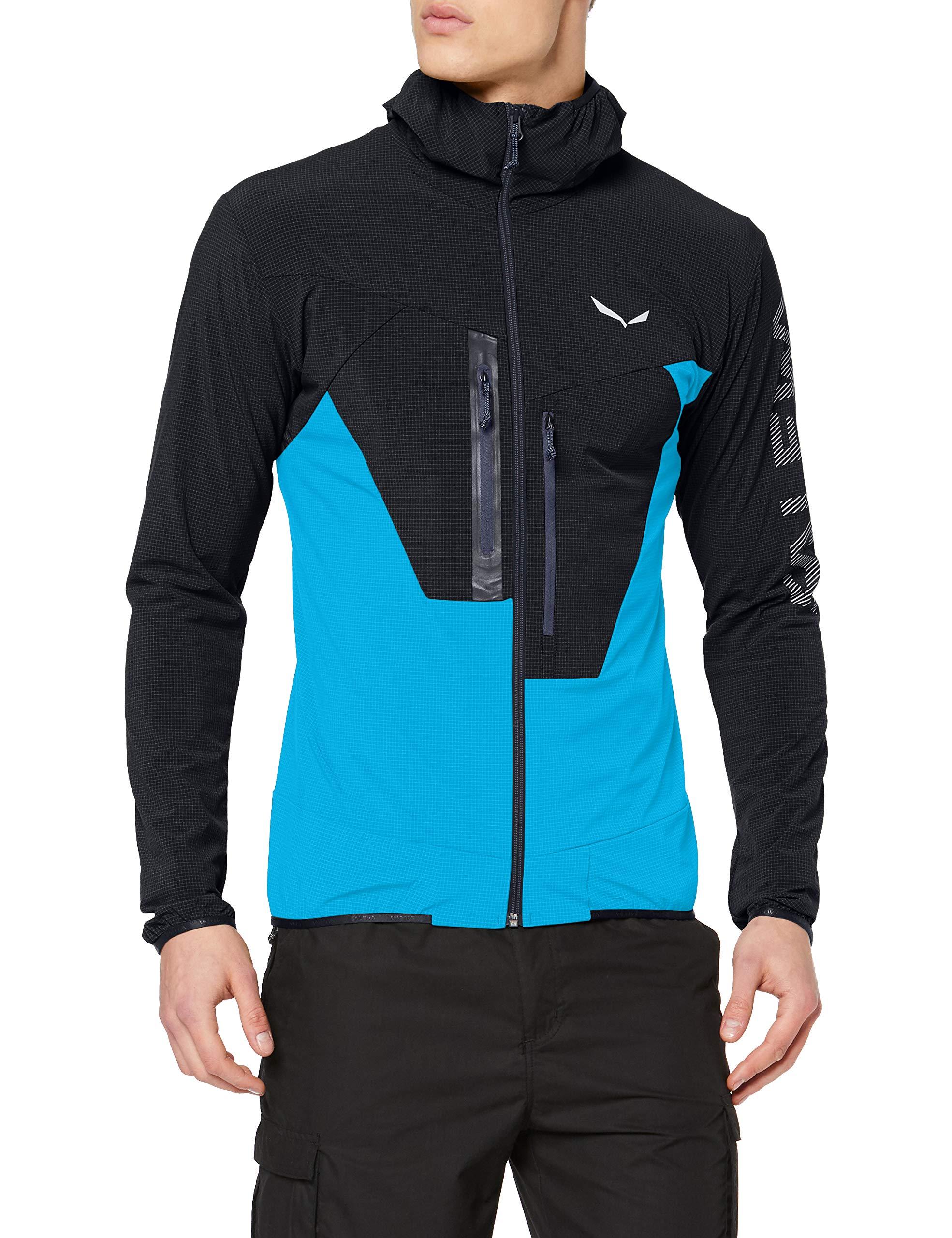 Salewa Herren Puez 2 DST M FZ HDY Pullover & Sweatshirts, Black Out/8980/3860, 4
