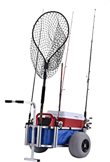 large fishing cart