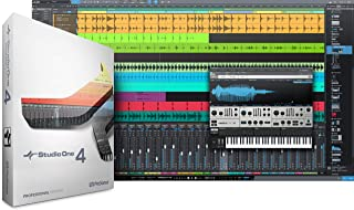 PreSonus Audio Electronics Multitrack Recording Software (Studio One 4 Professional/Boxed)
