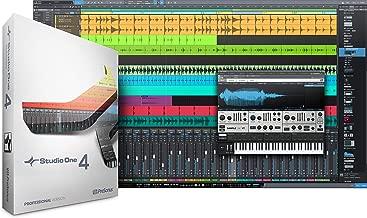 PreSonus Audio Electronics Studio One 4 Upgrade from Pro (All Versions) Boxed Multitrack Recording Software (S1 Prof 4.0