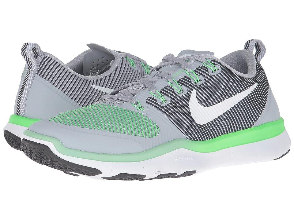Nike Free Train Versatility (Wolf Grey/Rage Green/Black/White) Men