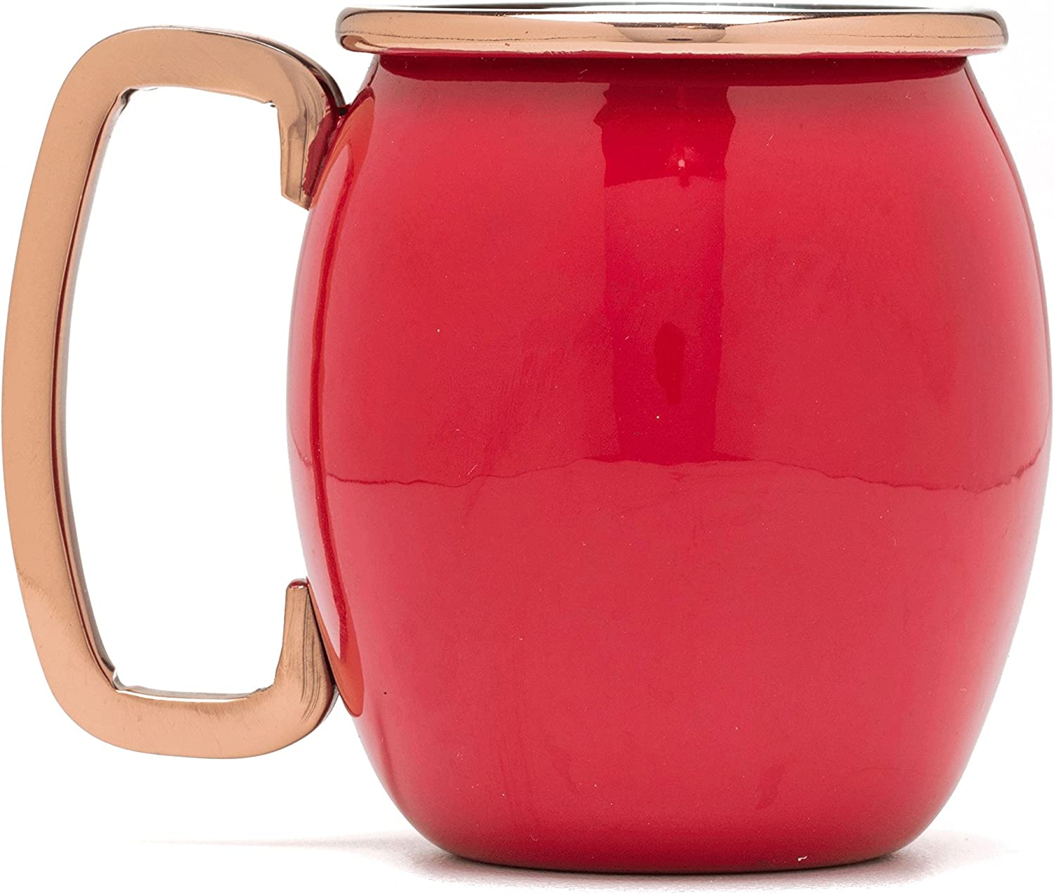 Fiesta Scarlet Sale price 4 Piece Moscow Mule with Mug Shot Set Copper Cheap sale Ac
