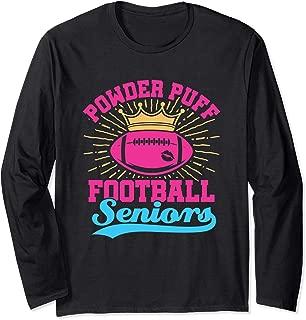 Powder Puff Football Seniors Long Sleeve T-Shirt