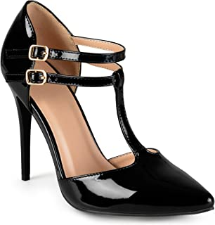 Journee Collection Womens Classic T-Strap Pumps