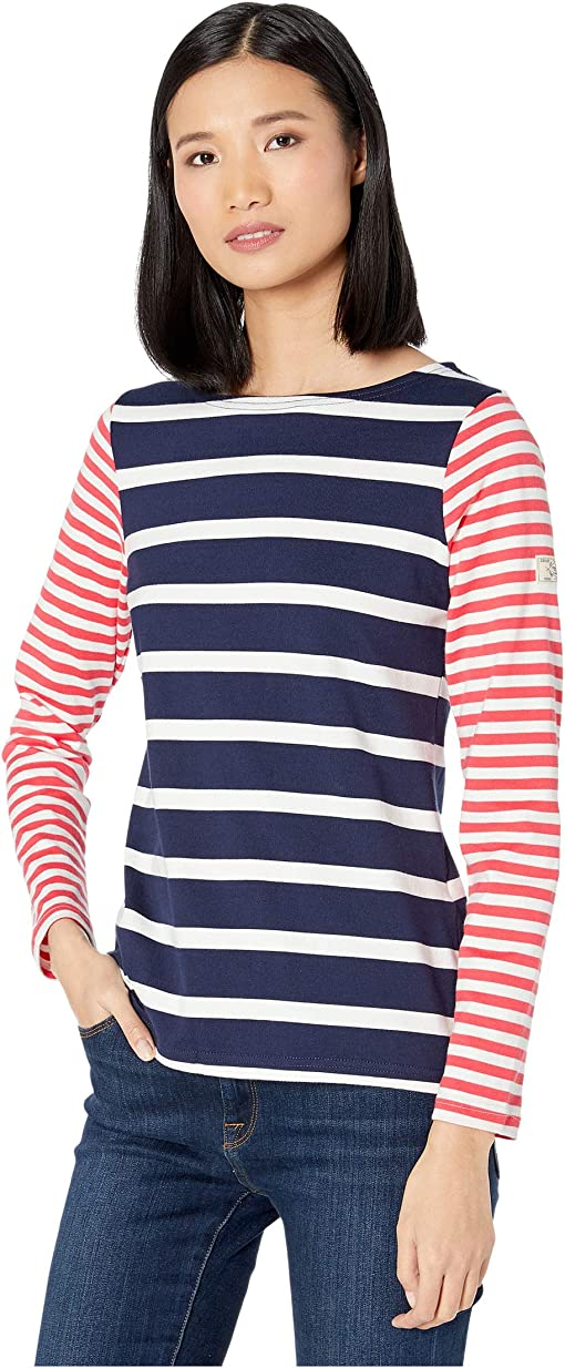 Navy/Cream Stripe