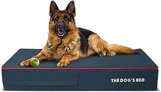 The Dog's Bed Orthopedic Dog Bed, Premium Memory Foam S-XXXL, Waterproof, Dog Pain..
