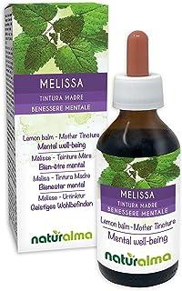 MELISSE oder ZITRONENMELISSE Melissa officinalis Blätter Alkoholfreier Urtinktur NATURALMA | Flüssig-Extrakt Tropfen 100 ml Nahrungsergänzungsmittel | Veganer
