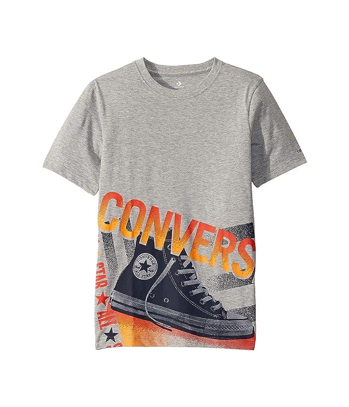 Converse Kids Short Sleeve Photorealistic Chucks Graphic T-Shirt (Big Kids)