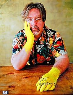 Matt Groening Signed Autographed 11X14 Photo The Simpsons Creator Hands GV816480