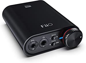 FiiO K3 DSD256 | 384K/32Bit USB-C DAC and Headphone Amplifier for Home and Computer(3.5mm Single Ended/2.5mm Balanced/Coaxial and Optical Digital Outs) …