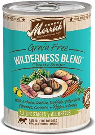 Merrick Classic Grain Free Canned Dog Food, 13,2 Oz, 12 Count Wilderness