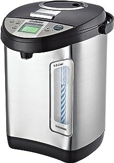 Thermopot 5 liter | roestvrij staal warmwaterdispenser | waterkoker | dispenser | thermoskan | theekoker | 24 uur timer | ...