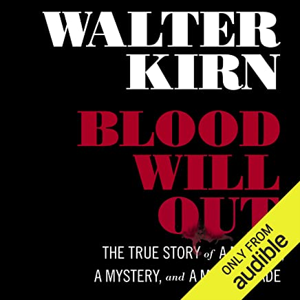 Amazon com: Blood Will Out: The True Story of a Murder, a