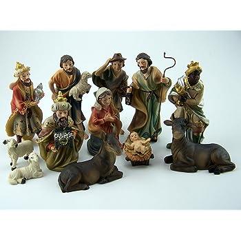 geeignet für 7cm Figuren Krippenfiguren Fischer handbemalen 44411207