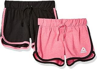 Reebok 锐步女童训练短裤 2 件装